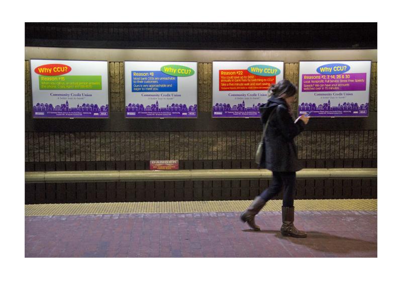 CCU Bank MBTA Posters 1
