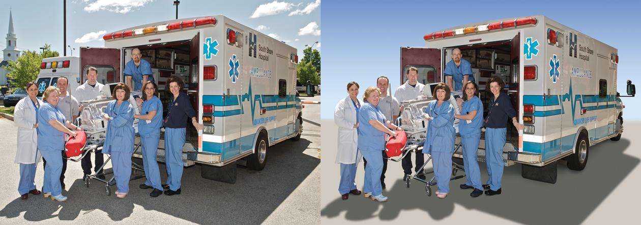 Ambulance Photo Edits
