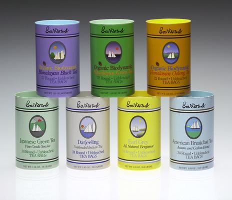 Barrows Tea Packaging