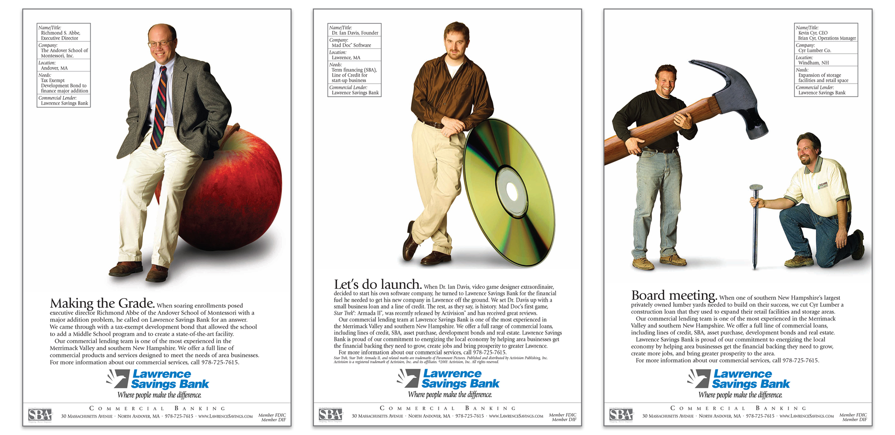 LSB Commercial Banking Ads