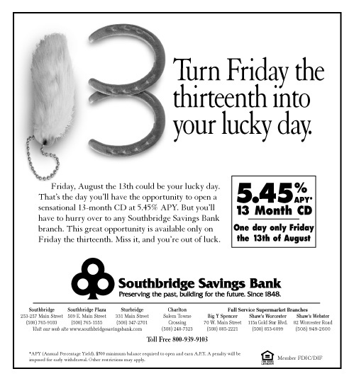 SSB CD Ad