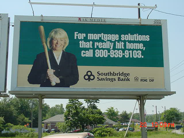 SSB Billboard for Mortgages