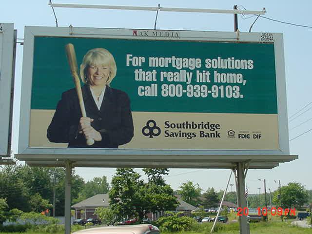 SSB Billboard for Mortgages