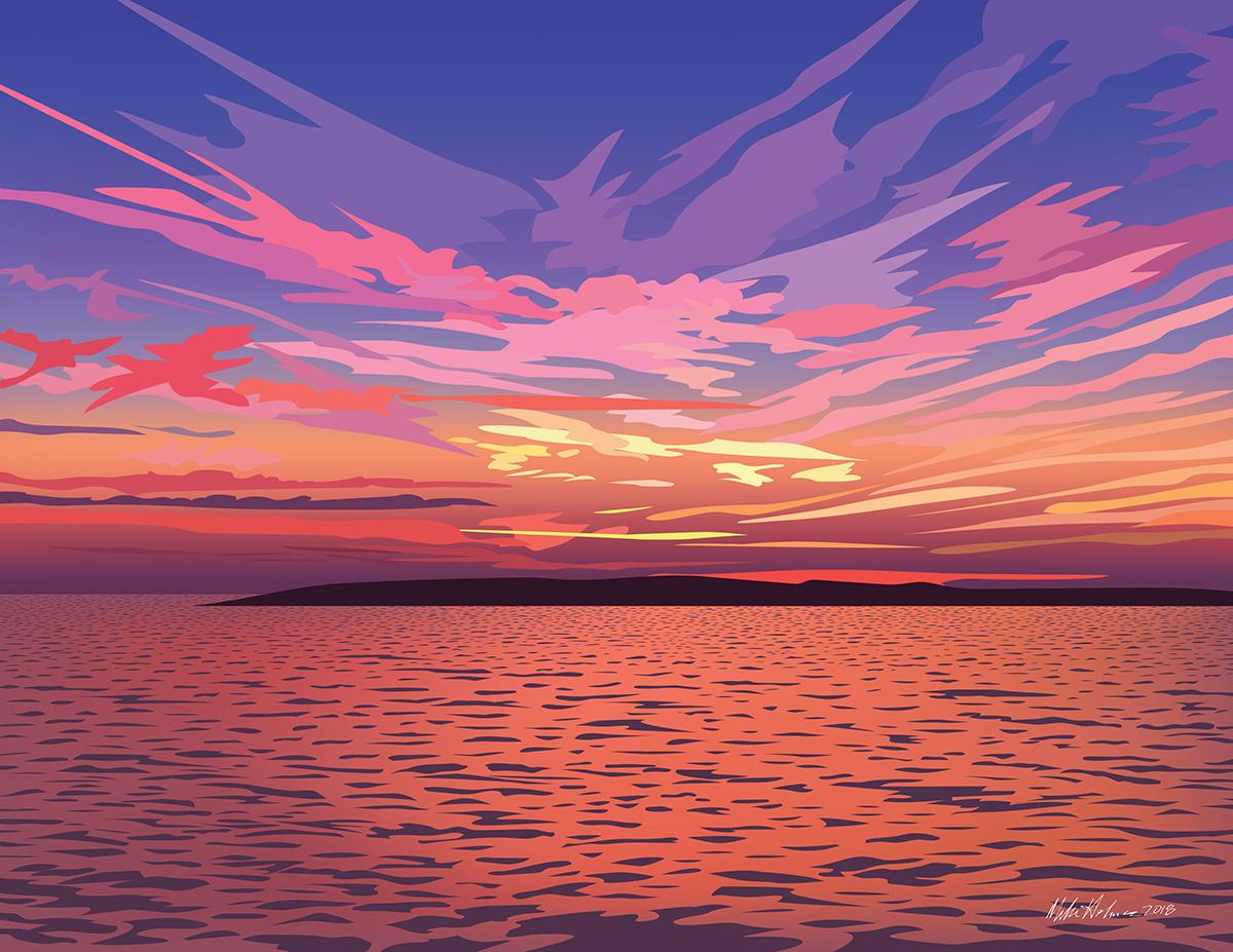 Sunrise Over Pasque